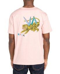 Rvca Ml Tiger Camiseta